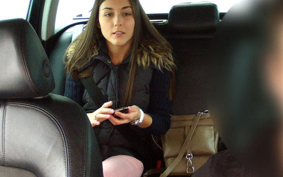 Iva Gets Fucked In The Fake Taxi
