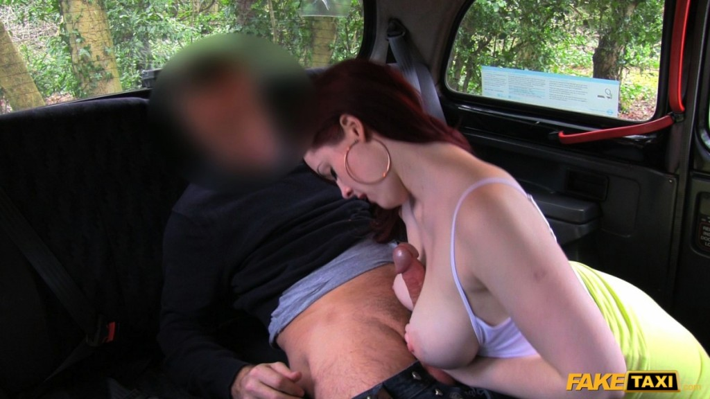 image Faketaxi redhead from the netherlands likes it rough
